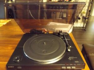 Like New Sony Stereo Turntable for quick sale