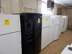 Fridges, large selection. 90 day warranty. $299. an up.
