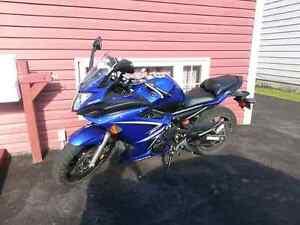 2009 Yamaha FZ6R 600cc
