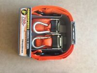 Cambuckle tie downs, 2-pack