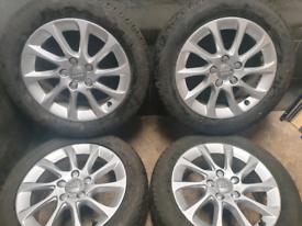 16 inch 5x112 genuine Audi A3 alloy wheels