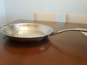 """New Stainless Steel 13"""" Fry Pan"""