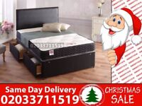BRAND NEW SMALL DOUBLE DIVAN BED WITH MATTRESS Bethlehem