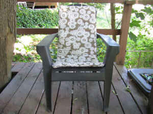 Set of 4 Garden Chair pads - prices listed below
