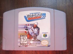 INTENDO 64  WAYNE GRETZKY 98 3D HOCKEY