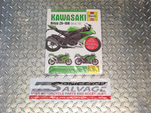 2004-2010 kawasaki zx-10r haynes work shop manual