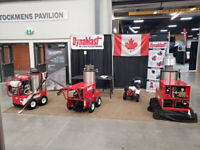 DYNABLAST Hot Water Pressure Washers .. Agritrade SALE !!!