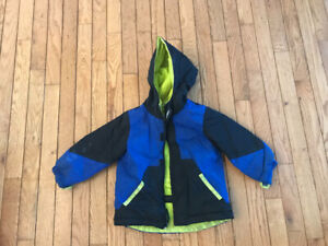 Toddler Boys winter coat and snow pants. Size 2.
