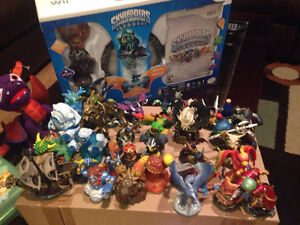 Wii  + skylanders and skylanders giants