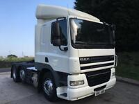 2011 11 DAF CF 85.410 6x2, sleeper cab, unit