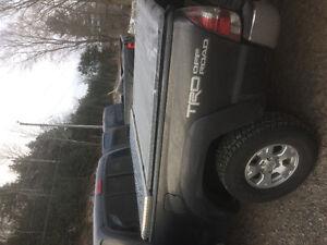 Toyota Tacoma tool box and tonneau cover