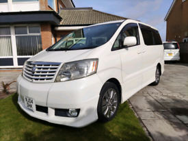 2004 2.4 Toyota Alphard Camper Van Fresh Import New Conversion