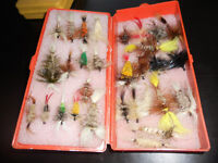 Coffre a mouches de quality, Fly fishing tackle box