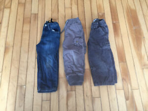 Boys size 3 pants (Gap and Children's Place)