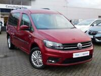 2017 Volkswagen Caddy Maxi Life DSG (Wheelchair Adapted) Auto MPV Diesel Automat