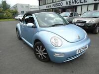 2005 Volkswagen Beetle 1.9TDI - CONVERTIBLE - Blue - 12 months MOT!