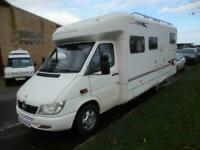 Geist Phantom, 4 Berth, Rear fixed bed Motorhome for sale.