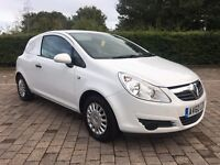 2011 Vauxhall Corsa Van 1.3 CDTi ecoFLEX 3dr 16v 71K MILES, FULL SERVICE HISTORY, NEW MOT, AIR CON