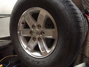 Wrangler ST tires with gmc rims P265/70 R17