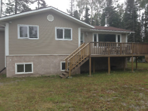 cabin/house for rent at paint lake.