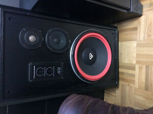 Cerwin  vega AT-12 speakers