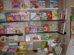 1000'S OF FRENCH BOOKS FOR CHILDREN 3 MONTHS TO 14 YEARS OLD