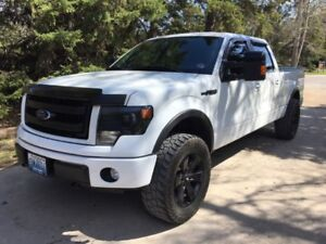 2013 Ford F-150 SuperCrew FX4 Pickup Truck Lors of extras