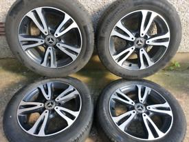 16 inch 5x112 genuine Mercedes A Class W176 Alloy Wheels