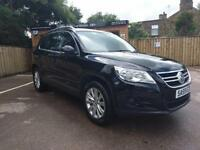 59 REG VOLKSWAGEN TIGUAN 1.4 TSI ( 150ps ) 4MOTION SE IN BLACK