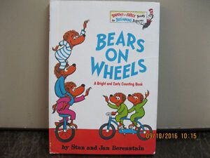 VINTAGE   1969   DR SEUSS      BEARS   ON   WHEELS