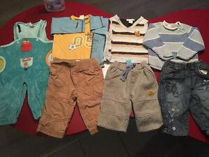 Beau Petit Lot Vêtement 6 a 9 mois 25$