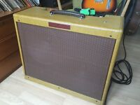 Victoria 50212 amplifier (hand made low power version of fender tweed twin amp)