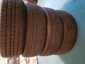 4 x 185/65/15 ironman all season tires 8/32nds