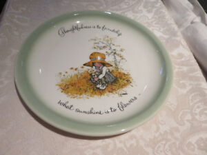 Holly Hobbie Collectors Plate