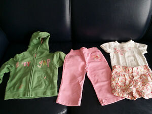 12 - 18 months Girls Gap Spring Collection - Like New