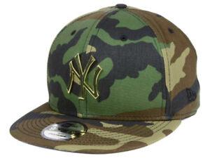 NY Yankees New Era MLB Camo O'Gold 9FIFTY Snapback Cap-BrandNeW