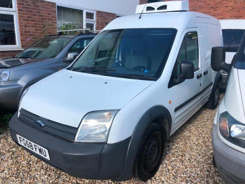 f9c70c36b6 2008 Ford Transit Connect 1.8TDCi FRIDGE VAN COMPLETE WITH M.O.T AND  WARRANTY