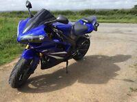 Yamaha R1 2007 BLUE!!!