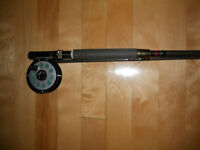 Canne moulinet a mouche Diawa, Silstar, Fly rod and reel