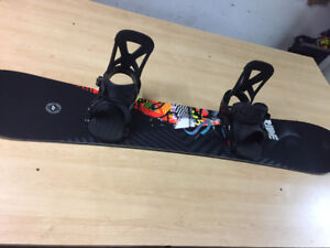 OBO Snowboard, Bindings and Boots