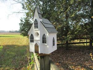 Hand Made Wood Birdhouses London Ontario image 3