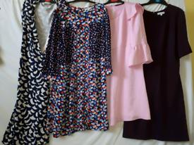 Woman's clothes dresses Boden M & S Zara bundle shoes uk 6
