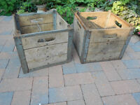 COWAN'S DAIRY MILK CRATES $40 EACH