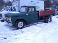 1965 FORD F350 DUALLY TRUCK 4 speed standard