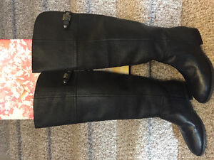 New! Chinese Laundry leather over the knee boots size 6.5 or 8 Kitchener / Waterloo Kitchener Area image 1