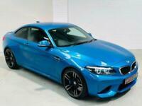 BMW M2 DCT 3.0 365 BHP 2018 AUTO COUPE LONG BEACH BLUE 2 DOOR PETROL