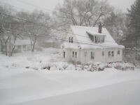 Taking on Snow removal clients for Truro area only