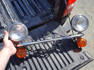 Auxiliary lights for 1995 Vn800