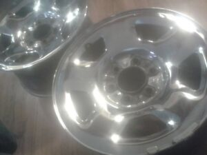 4 rimes chromés de 17po pour Ford f-150 ou Expedition 6x135mm