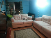 Tan Colored Couch and Loveseat Set $300 OBO